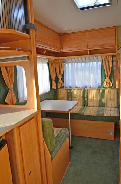 Dethleffs 510 TK - Schlafplätze Bild 3