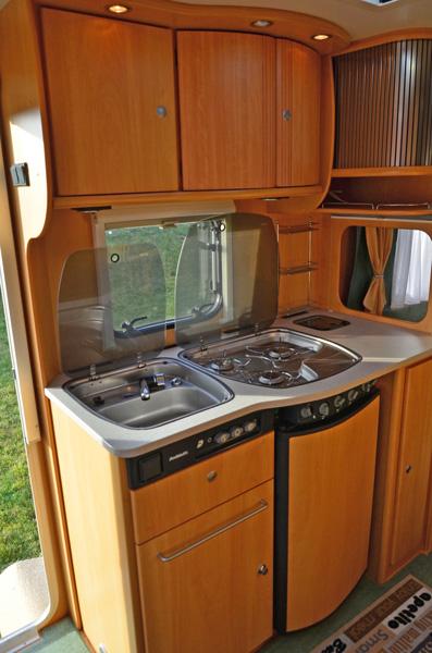 Dethleffs 510 TK - Küchenzeile